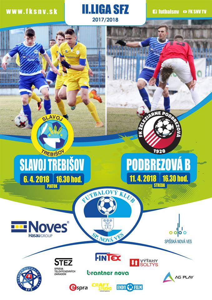 Plagat FK NOVES -Trebišov, Podbrezová B